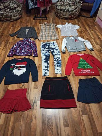 Школьные блузки, юбки, сарафаны, свитера, кофты, шорты, лосины, штаны.