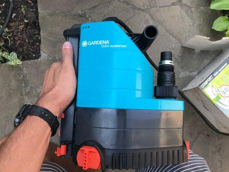 Продам насос дренажный для чистой воды Gardena 13000 AquasensorComfort