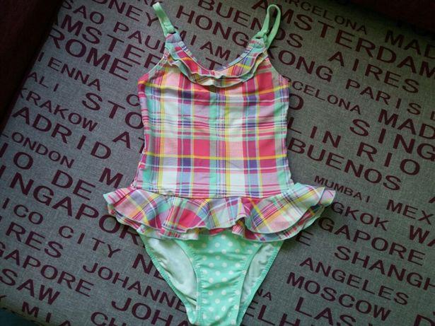 Kostium kąpielowy jednoczęściowy z baskinką Girl2Girl r. 110