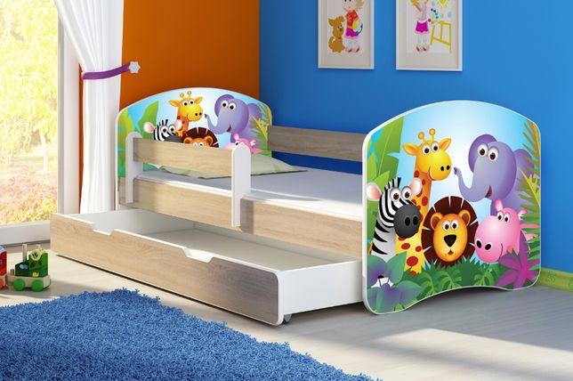 Łóżko, łóżeczko dziecięce sonoma 140X70