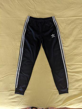 Calças de fato de treino Adidas (azul) rapaz criança 11/12 anos