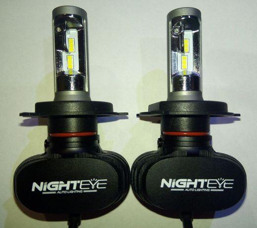 Лампы фар светодиодные Nighteye H4 50W 8000LM LED автомобиль CSP Seoul