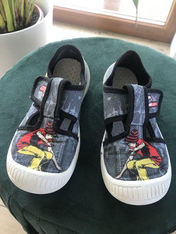 Buty dziecięce paputki na rzepy