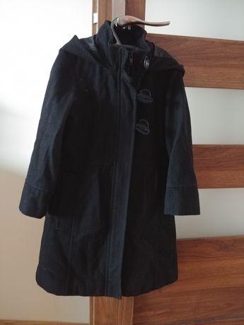 NEXT wełniany płaszczyk jesień zima 5-6 lat. 116 cm.