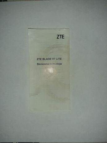 Instrukcja obsługi ZTE Blade V7 Lite
