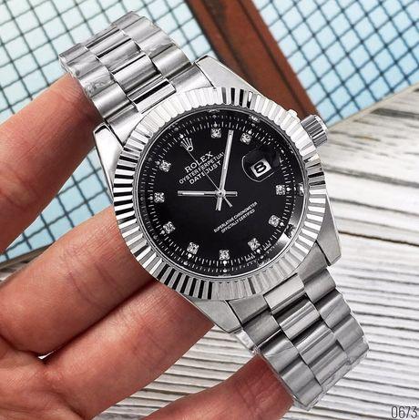 Zegarek Rolex Date Just 067 New Silver-Black