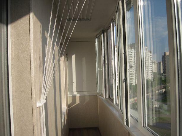 Балконы, окна. Опыт - 15 лет. Остекление. Утепление. Обшивка. Шкафы.