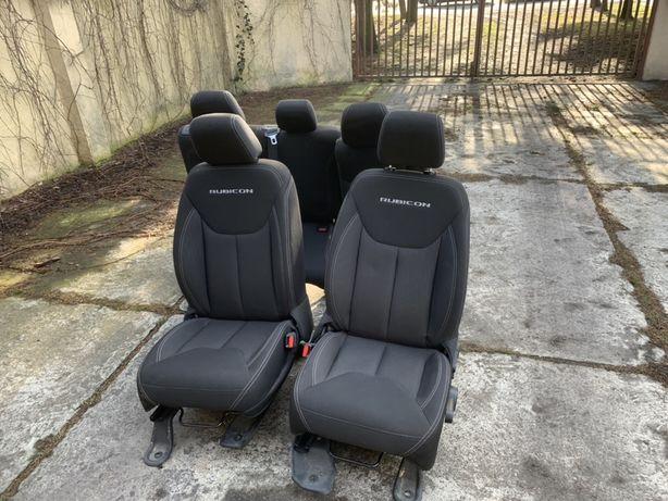 Komplet foteli Jeep Rubikon