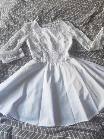 Biała Sukienka , Elegancka , na każdą okazję