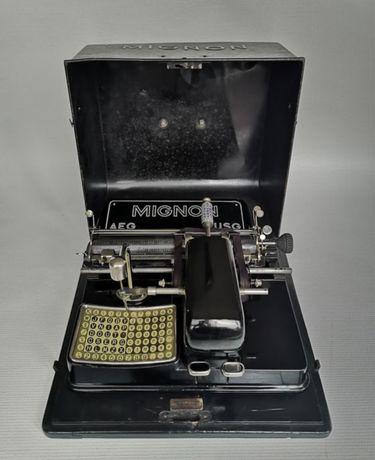 Máquina de escrever Mignon model 3