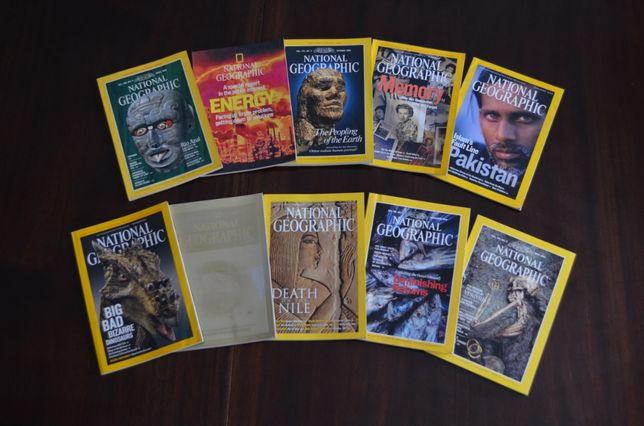 Coleção de revistas americanas National Geographic 1979 a 2018