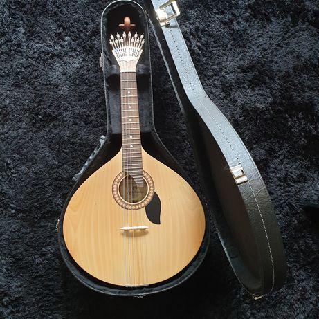 Guitarra portuguesa fado Lisboa + Estojo rígido