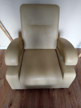 Dwa Fotele ze skóry ekologicznej