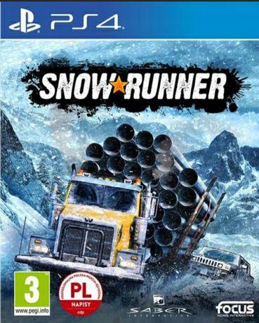Snow Runner ps4 PL
