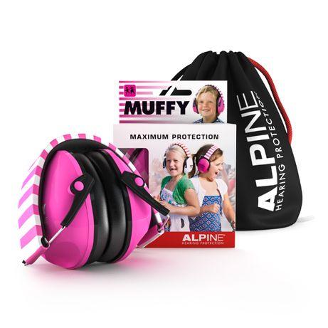Ochronniki słuchu dla dzieci Alpine Muffy Pink