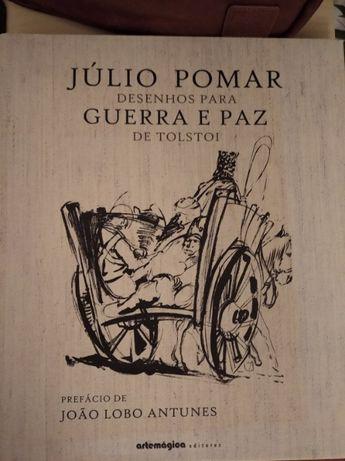 Julio Pomar Desenhos para Guerra e Paz