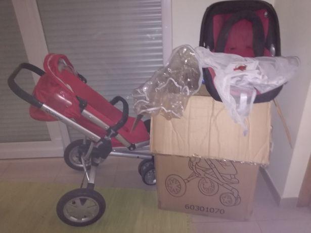 Carro bebé + ovo Quinny + acessorios