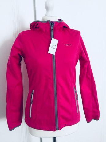 Różowa bluza soft shell rozmiar S