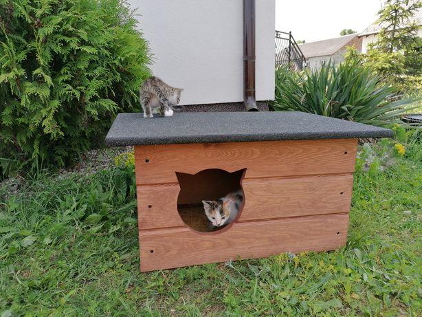 Ocieplana buda domek legowisko dla kota Producent