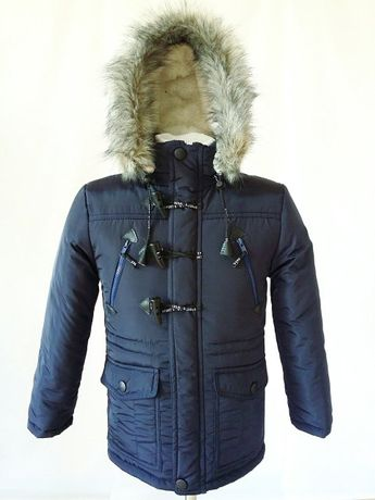 Новая зимняя куртка Парка на мальчика 8-16 лет