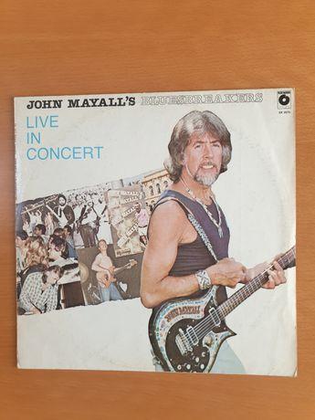 JOHN MAYALL's - Bluesbreakers Live In Concert LP.