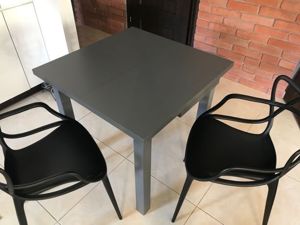 Nowoczesny stół rozkładany, lite drewno, polecam !