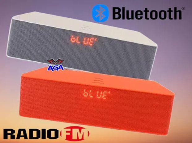 Głośnik Bluetooth BoomBox 2.0 USB SD AUX RADIO FM Akumulator