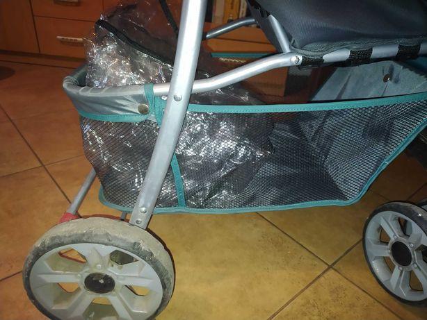 Wózek Lionelo +gratis folia przeciwdeszczowa. Stan bardzo dobry