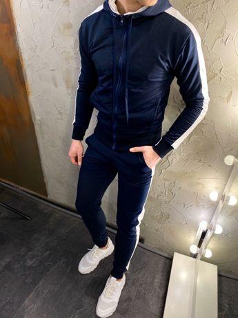 SALE Спортивный костюм мужской с лампасами весенний осенний чоловічий)