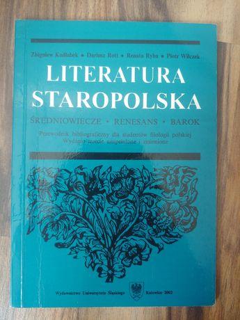 Przewodnik Literatura staropolska Kadłubek Rott Ryba Wilczek UŚ 2002