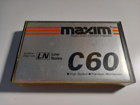 Kaseta magnetofonowa MAXIM C60