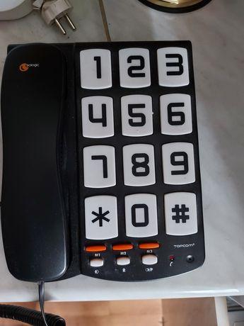 Telefon z dużymi cyframi