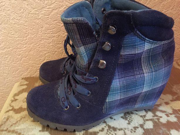 Сникерсы, кроссовки, ботинки натуральная замша 36р.