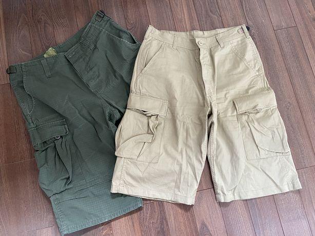 Helikon 2x BDU Shorts Medium 29/32 olive khaki dwie pary