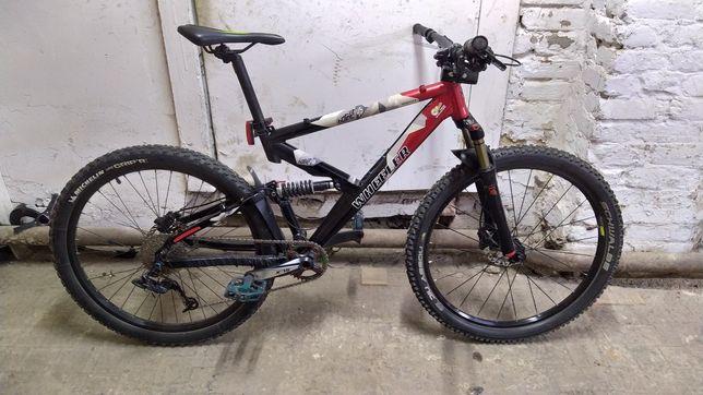 Велосипед двухподвес Wheller hornet 26