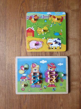 Układanki drewniane dla dzieci (Częstochowa)