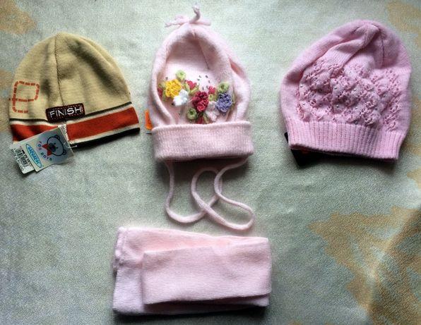 Детская одежда (шапочки, носочки и т. д.)