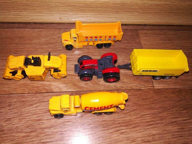 Машинки Стройтехника Трактор с прицепом