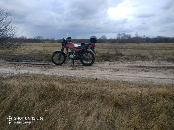 Мотоцикл мінск лідер (минськ лидер)