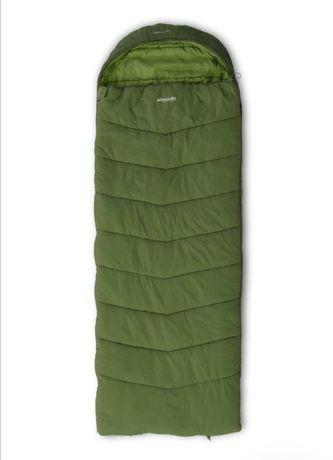 Спальный мешок-одеяло Pinguin Blizzard PFM 190 2020, Khaki, L+R