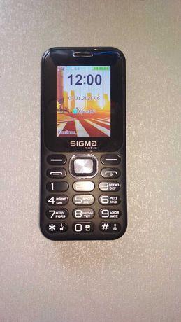 Телефон Sigma X-Style 32 Boombox Black