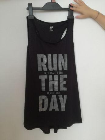 Sportowa koszulka, t- shirt H&M roz M