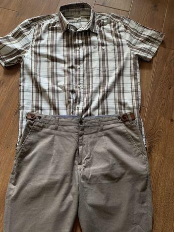 Koszula wrangler +spodnie reserwet + gratis koszula henderson rozm LXL