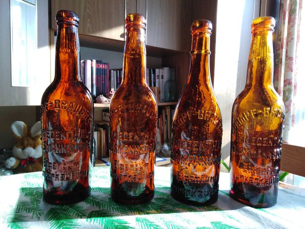 Stare butelki - Giesmannsdorf / Goświnowice / Neisse / Nysa
