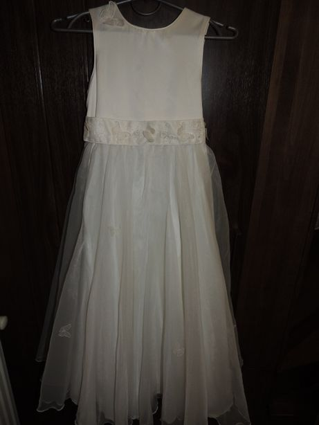 платье причастия 8-10 р. плаття сукня для причастя нарядное нарядне