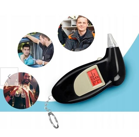 Nowe Miernik promili dla kierowców tester wyświetlacz LCD