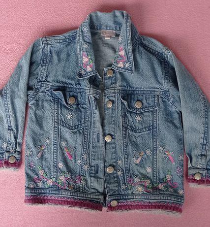 Kurtka kurteczka jeansowa 98 Monsoon bawełna dla dziewczynki