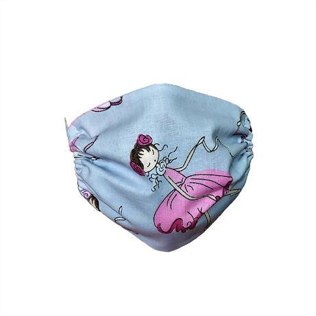 Maseczka ochronna bawełniana dla dzieci – Wróżki