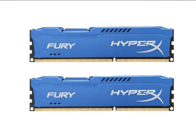 Модуль памяти Kingston DDR3 8Gb, 16GB 2x8, 32Gb 4x8, 1600MHz, Hyper X