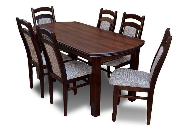 Zestaw do jadalni Z25 - stół + 6 krzeseł
